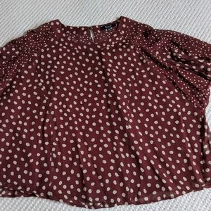 Madewell Spotty Flowly Top